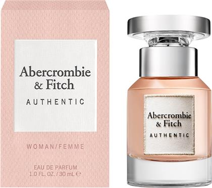 A&F AUTHENTIC WOMEN EDP 30ML - 516653 ABERCROMBIE & FITCH