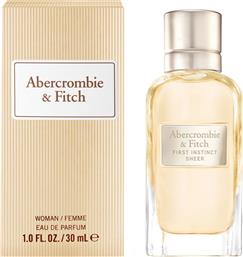 A&F FIRST INSTINCT SHEER WOMEN EDP 30ML - 516763 ABERCROMBIE & FITCH