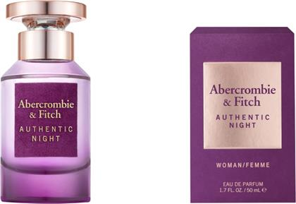 AUTHENTIC NIGHT WOMEN EAU DE TOILETTE 50ML ABERCROMBIE & FITCH
