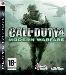 CALL OF DUTY 4 - MODERN WARFARE - PS3 GAME ACTIVISION