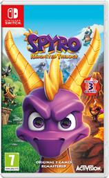 SPYRO REIGNITED TRILOGY NINTENDO SWITCH ACTIVISION