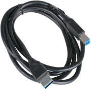AK-CBUB01-15BK USB3.0 TYPE A TO B CABLE 1.5M BLACK AKASA