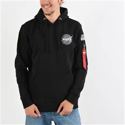 SPACE SHUTTLE HOODY (9000021483-1469) ALPHA INDUSTRIES