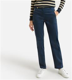 STRETCH COTTON SATIN TROUSERS ANNE WEYBURN