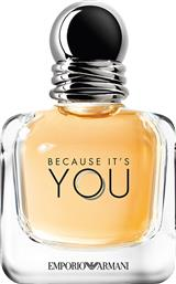 EMPORIO BECAUSE IT'S YOU SHE EDP 50 ML - 3605522041004 ARMANI