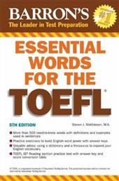 ESSENTIAL WORDS FOR THE TOEFL BARRONS