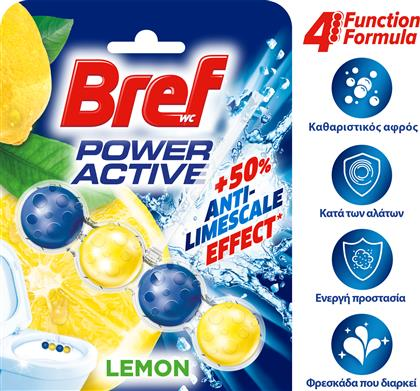 WC BLOCK POWER ACTIV LEMON (50G) BREF