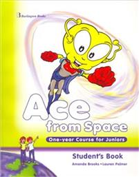 ACE FROM SPACE ONE YEAR COURSE FOR JUNIORS - STUDENT'S BOOK (+BOOKLET +PICTURE DICTIONARY) BURLINGTON