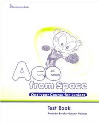 ACE FROM SPACE ONE YEAR COURSE FOR JUNIORS TEST BOOK BURLINGTON
