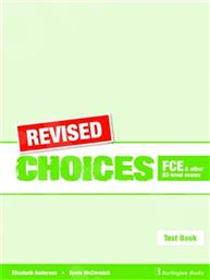 CHOICES B2 FCE TEST BOOK REVISED BURLINGTON