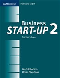 BUSINESS START UP 2 TEACHER'S BOOK CAMBRIDGE