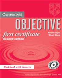 OBJECTIVE FIRST CERTIFICATE WORKBOOK WITH ANSWERS (2ND EDITION) CAMBRIDGE