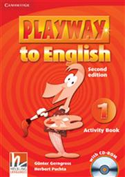 PLAYWAY TO ENGLISH 1 ACTIVITY BOOK (+CD-ROM) CAMBRIDGE