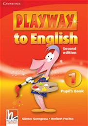 PLAYWAY TO ENGLISH 1 STUDENT'S BOOK CAMBRIDGE