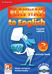 PLAYWAY TO ENGLISH 2 ACTIVITY BOOK (+CD-ROM) CAMBRIDGE