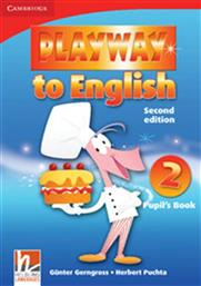 PLAYWAY TO ENGLISH 2 STUDENT'S BOOK CAMBRIDGE