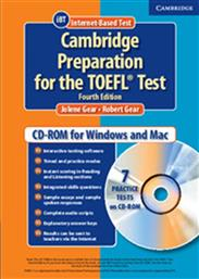 PREPARATION FOR THE TOEFL TEST CD-ROM 4TH EDITION CAMBRIDGE