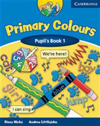 PRIMARY COLOURS 1 PUPIL'S BOOK CAMBRIDGE
