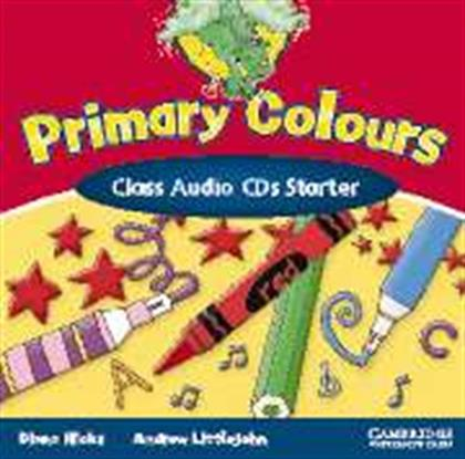 PRIMARY COLOURS STARTER CLASS CD(2) CAMBRIDGE