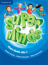 SUPER MINDS 1 CLASS AUDIO CDS (3) CAMBRIDGE