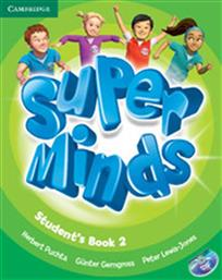 SUPER MINDS 2 STUDENT'S BOOK (+DVD-ROM) CAMBRIDGE