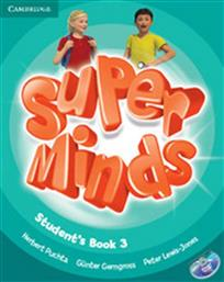 SUPER MINDS 3 STUDENT'S BOOK (+DVD-ROM) CAMBRIDGE