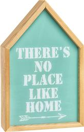 ΞΥΛΙΝΟ LIGHT BOX ΜΕ LETTERING THERE'S NO PLACE LIKE HOME 17 X 27 CM - 005621312 - ΒΕΡΑΜΑΝ COINCASA