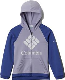 AG0044 ΖΑΚΕΤΑ ΜΕ ΚΟΥΚΟΥΛΑ BRANDED FRENCH TERRY FULL ZIP UPF 50 - 580 COLUMBIA