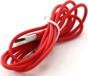 CI-562 LIGHTNING CHARGE/SYNC CABLE COULOR LINE RED CONNECT IT