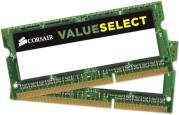 RAM CMSO8GX3M2C1600C11 VALUE SELECT 8GB (2X4GB) SO-DIMM DDR3L 1600MHZ DUAL CHANNEL KIT CORSAIR