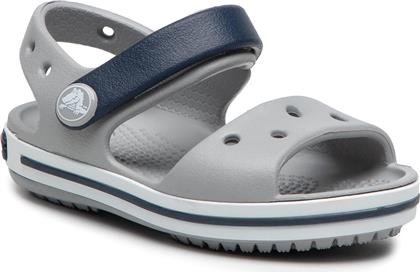 ΣΑΝΔΑΛΙΑ - CROCBAND SANDAL 12856 LIGHT GREY/NAVY CROCS
