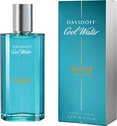 COOL WATER WAVE EAU DE TOILETTE 75ML DAVIDOFF