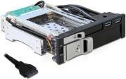 47209 5.25 MOBILE RACK FOR 1X2.5 + 1X3.5 SATA HDD + 2XUSB3.0 PORTS DELOCK