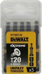 ΣΕΤ 5 ΤΕΜ DEWAL EXTREME IMPACT TORSION ΜΥΤΕΣ TORX T20 50MM DT7395T DEWALT
