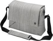 CODE MESSENGER 13-15.0'' STYLISH NOTEBOOK BAG WITH TABLET POCKET GREY DICOTA
