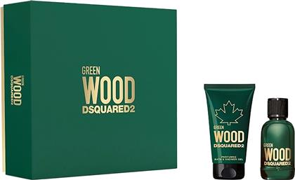 GREEN WOOD EAU DE TOILETTE 30 ML + PERFUMED BATH & SHOWER GEL 50 ML - 5D06003 DSQUARED2