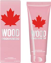 WOOD FOR HER CHARMING BATH & SHOWER GEL 200 ML - 5A48 DSQUARED2