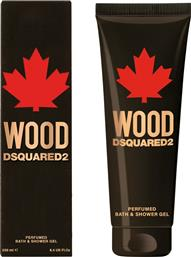 WOOD FOR HIM PERFUMED BATH & SHOWER GEL 250 ML - 5B27 DSQUARED2