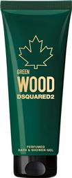 WOOD GREEN POUR HOMME PERFUMED BATH & SHOWER GEL TUBE 250 ML - 5D27 DSQUARED2
