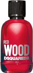 WOOD RED POUR FEMME EAU DE TOILETTE NATURAL SPRAY 100 ML - 5C32 DSQUARED2
