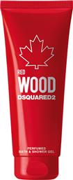WOOD RED POUR FEMME PERFUMED BATH & SHOWER GEL TUBE 200 ML - 5C48 DSQUARED2