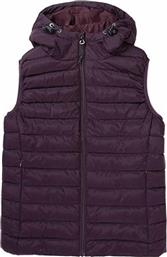HOODED FAKE DOWN QUILTED VEST JACKET 192.EW10.114-RPS BORDEAUX ΜΠΟΡΝΤΟ EMERSON