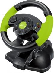 EG104 STEERING WHEEL HIGH OCTANE XBOX EDITION PC/PS3/XBOX 360 ESPERANZA