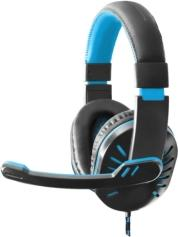 EGH330B CROW HEADPHONES WITH MICROPHONE FOR PLAYERS BLUE ESPERANZA