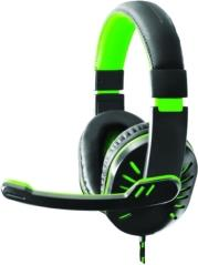 EGH330G CROW HEADPHONES WITH MICROPHONE FOR PLAYERS GREEN ESPERANZA