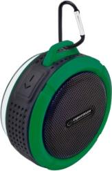 EP125KG COUNTRY BLUETOOTH SPEAKER WATERPROOF BLACK/GREEN ESPERANZA
