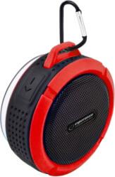 EP125KR COUNTRY BLUETOOTH SPEAKER WATERPROOF BLACK/RED ESPERANZA