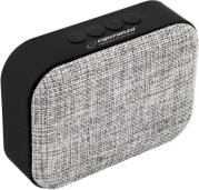 EP129E SAMBA BLUETOOTH SPEAKER WITH FM RADIO GREY ESPERANZA
