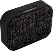 EP129K SAMBA BLUETOOTH SPEAKER WITH FM RADIO BLACK ESPERANZA