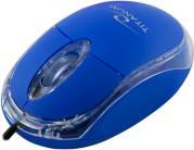 TM102B TITANUM RAPTOR 3D WIRED OPTICAL MOUSE USB BLUE ESPERANZA